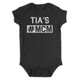 Tias MCM Baby Bodysuit One Piece Black