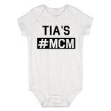 Tias MCM Baby Bodysuit One Piece White