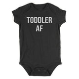 Toddler AF Funny Baby Bodysuit One Piece Black