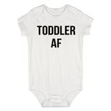 Toddler AF Funny Baby Bodysuit One Piece White