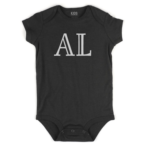 AL Alabama State Fashion Infant Onesie Bodysuit By Kids Streetwear
