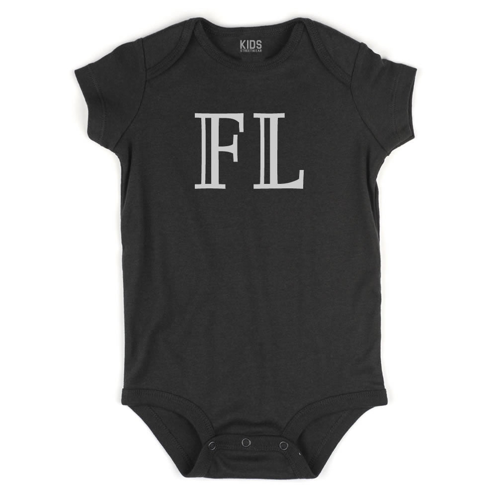 FL Florida State Fashion Infant Onesie Bodysuit By Kids Streetwear