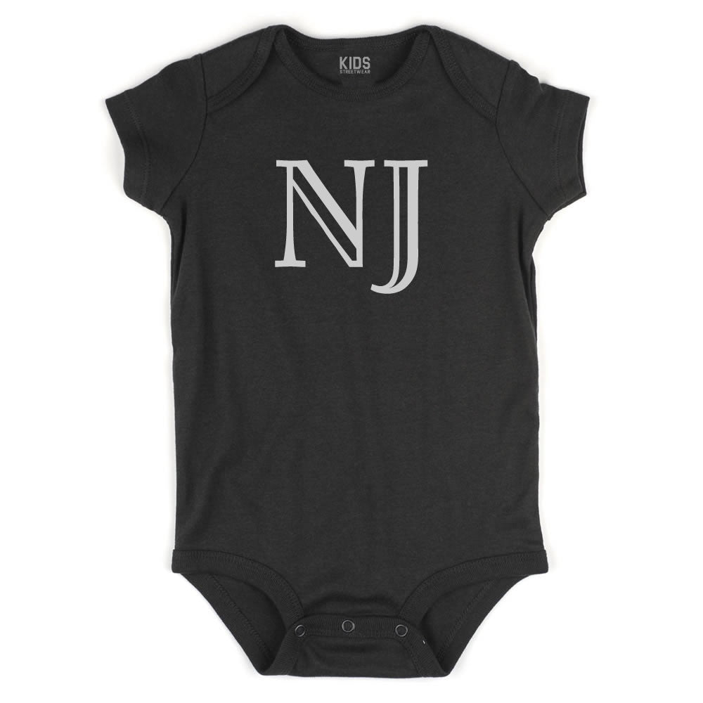 NJ New Jersey State Fashion Infant Onesie Bodysuit By Kids Streetwear