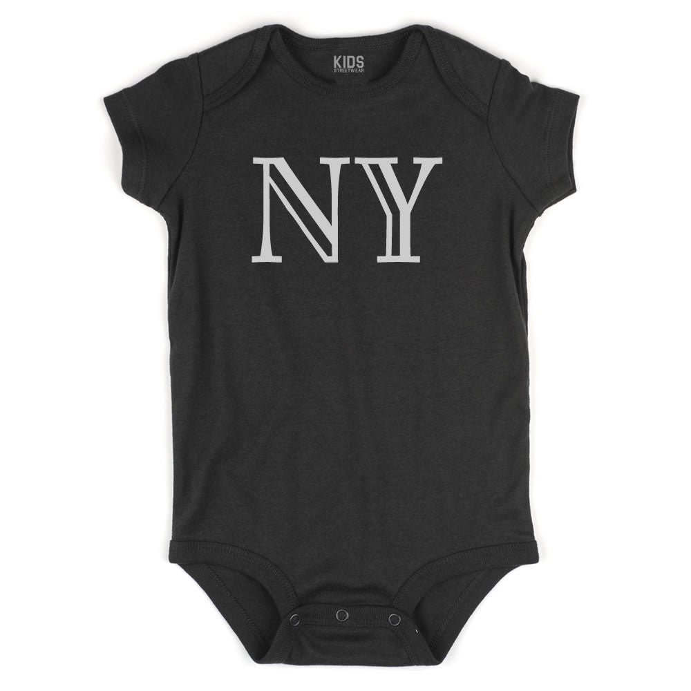 NY New York State Fashion Infant Onesie Bodysuit By Kids Streetwear