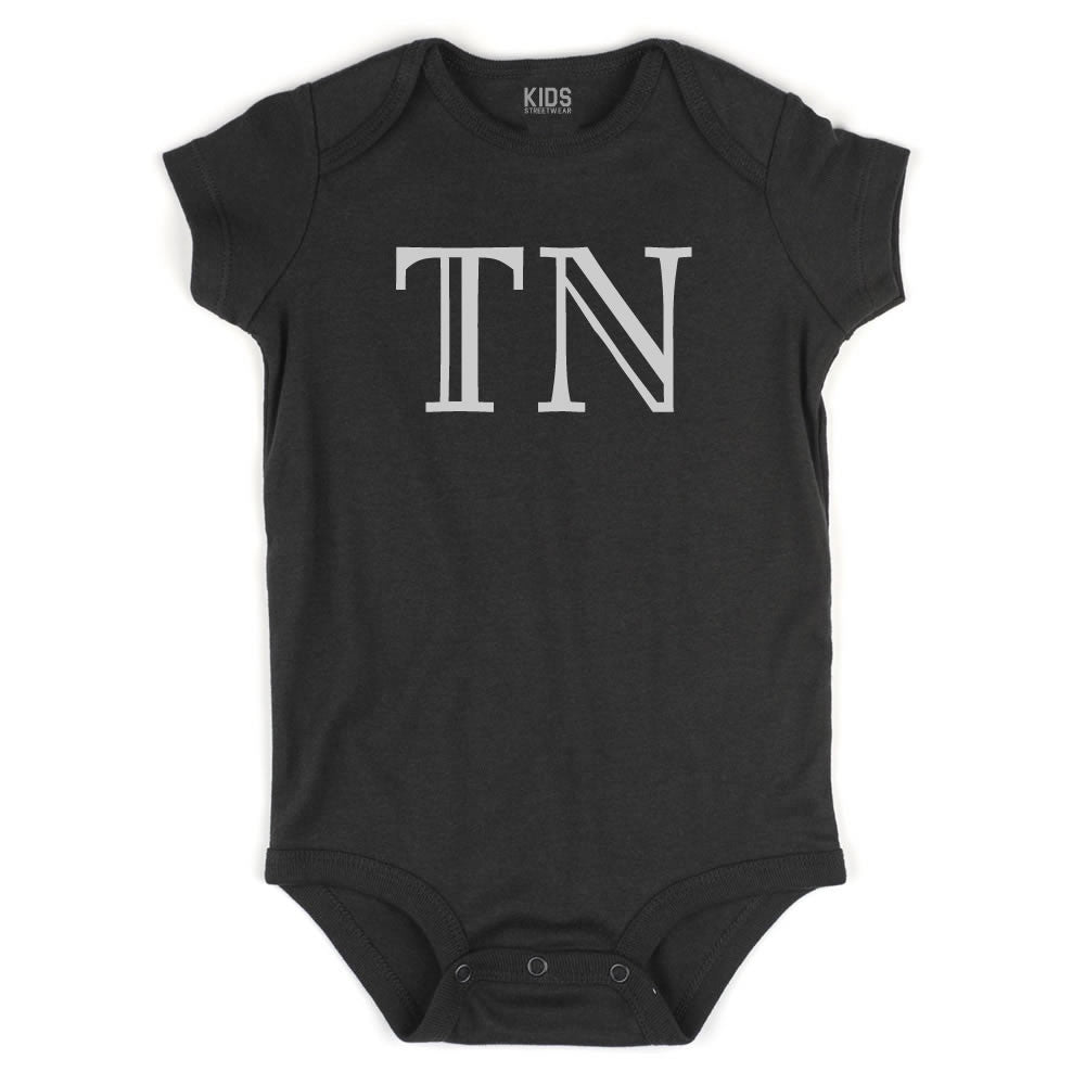 TN Tennessee State Fashion Infant Onesie Bodysuit By Kids Streetwear