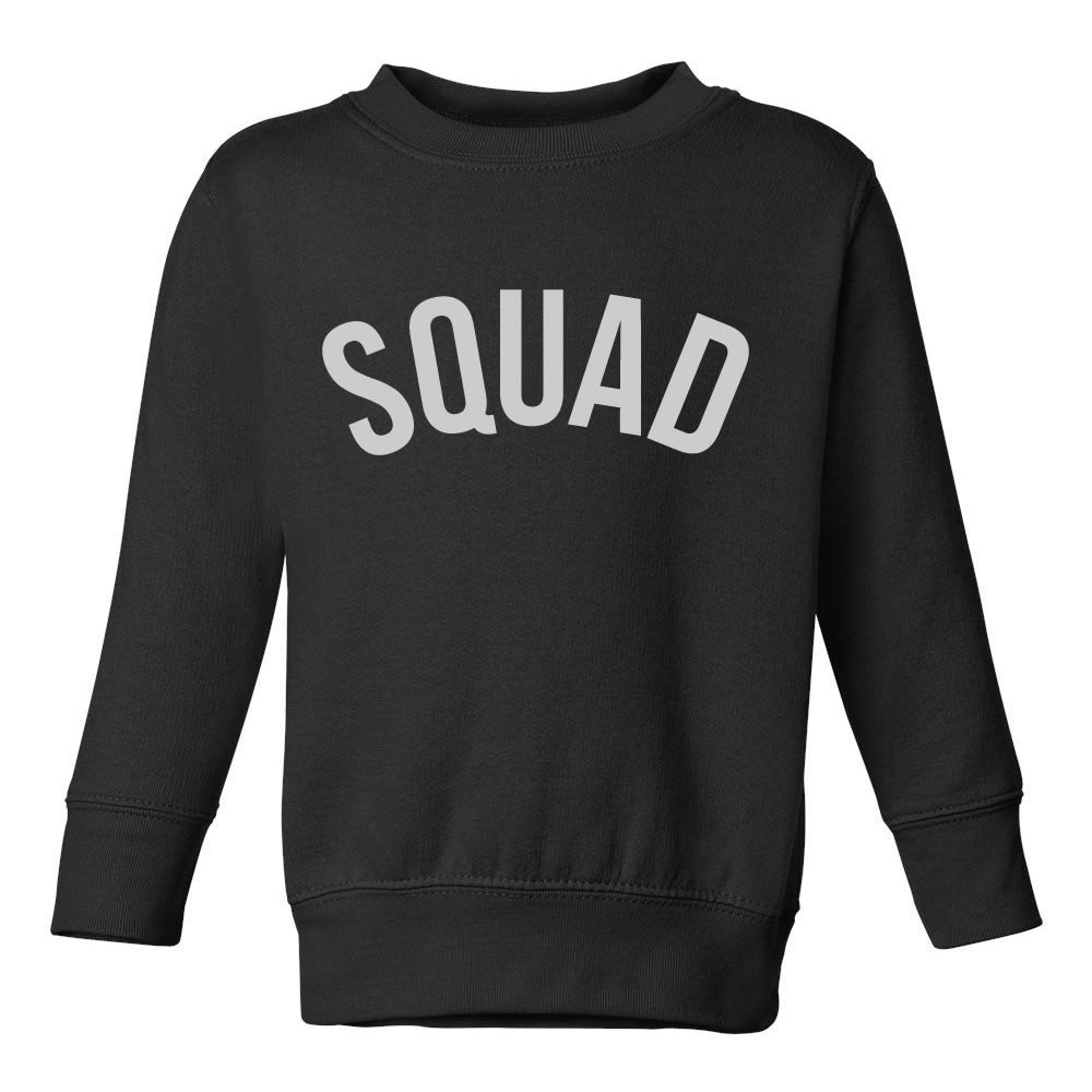 Squad Toddler Kids Sweatshirt in Black