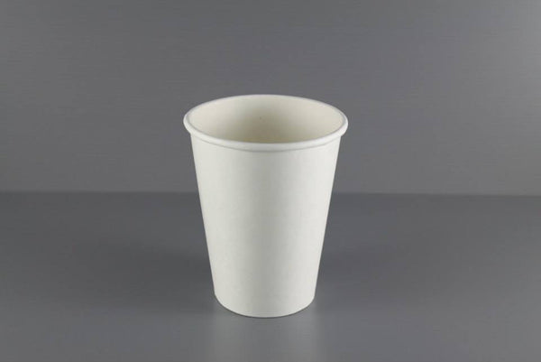 12oz Hot Cup (White)