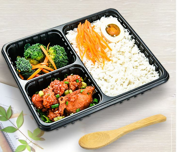 3 Compartments, 4 Compartment, 5 Compartment bento box