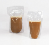 450ML CLEAR DRINK POUCH BAG