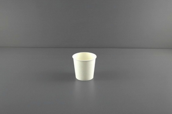 4oz Paper Hot Cup (White)