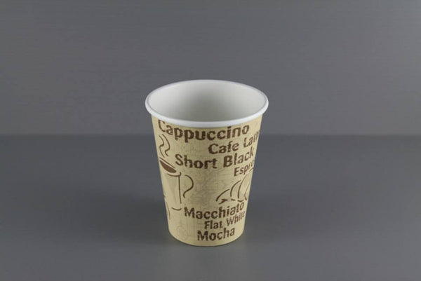 8oz Paper Hot Cup (Logo)