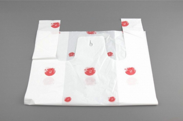 Medium White Carrier Bag