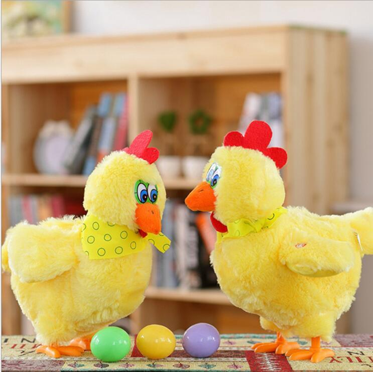 Electronic Pets 2019 Electric Duck Plush Toy Sing Dancing Interactive Stuffed Animal Funny Duck Plush Toys Birthday Gifts For Baby And Children