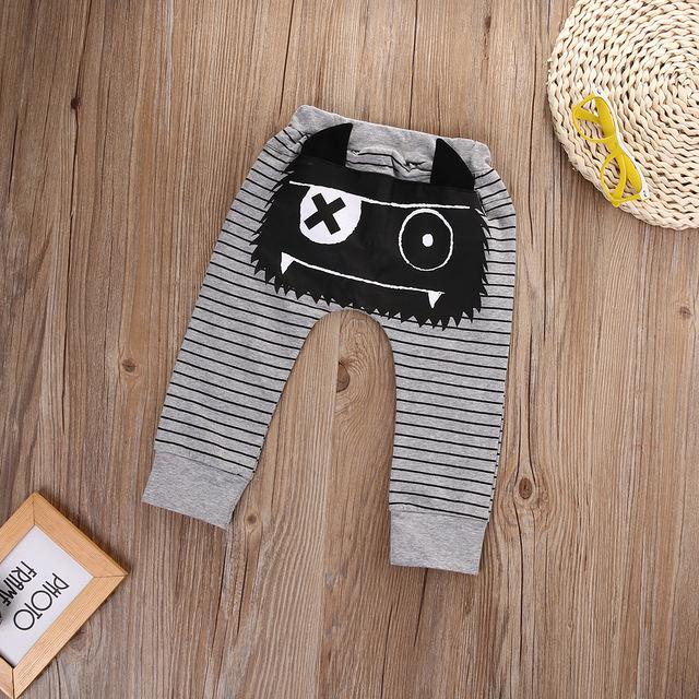 1e408c5bf Cute Animal Newborn Baby Boy Girl Harem Pant 0-24M Infant Bebes 3D ...