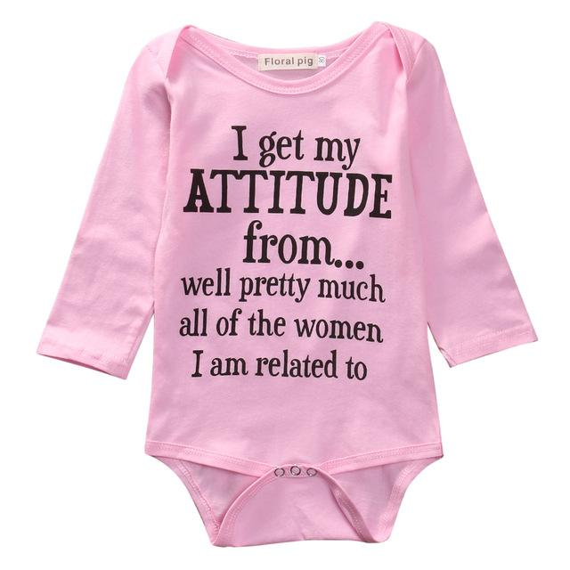 cf243e536ff Newborn Infant Baby Girl Clothes Toddler Kids Long Sleeve Cotton Bodysuit Jumpsuit  Outfit Bebes Suit 0-18M
