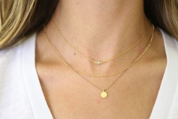 gold jewel necklace