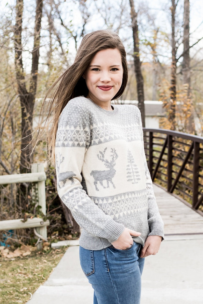 reindeer sweater