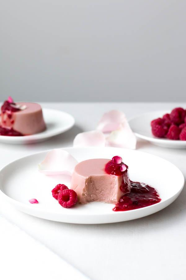 Coconut Panna Cotta With Gypsy Berry Compote