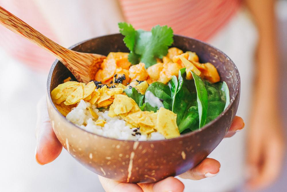 Easy Turmeric Coconut Vegan Curry