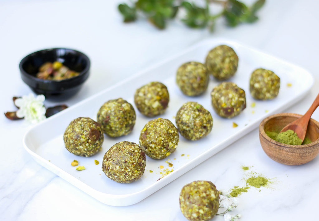 Get On A Roll With Mystic Matcha Bliss Balls