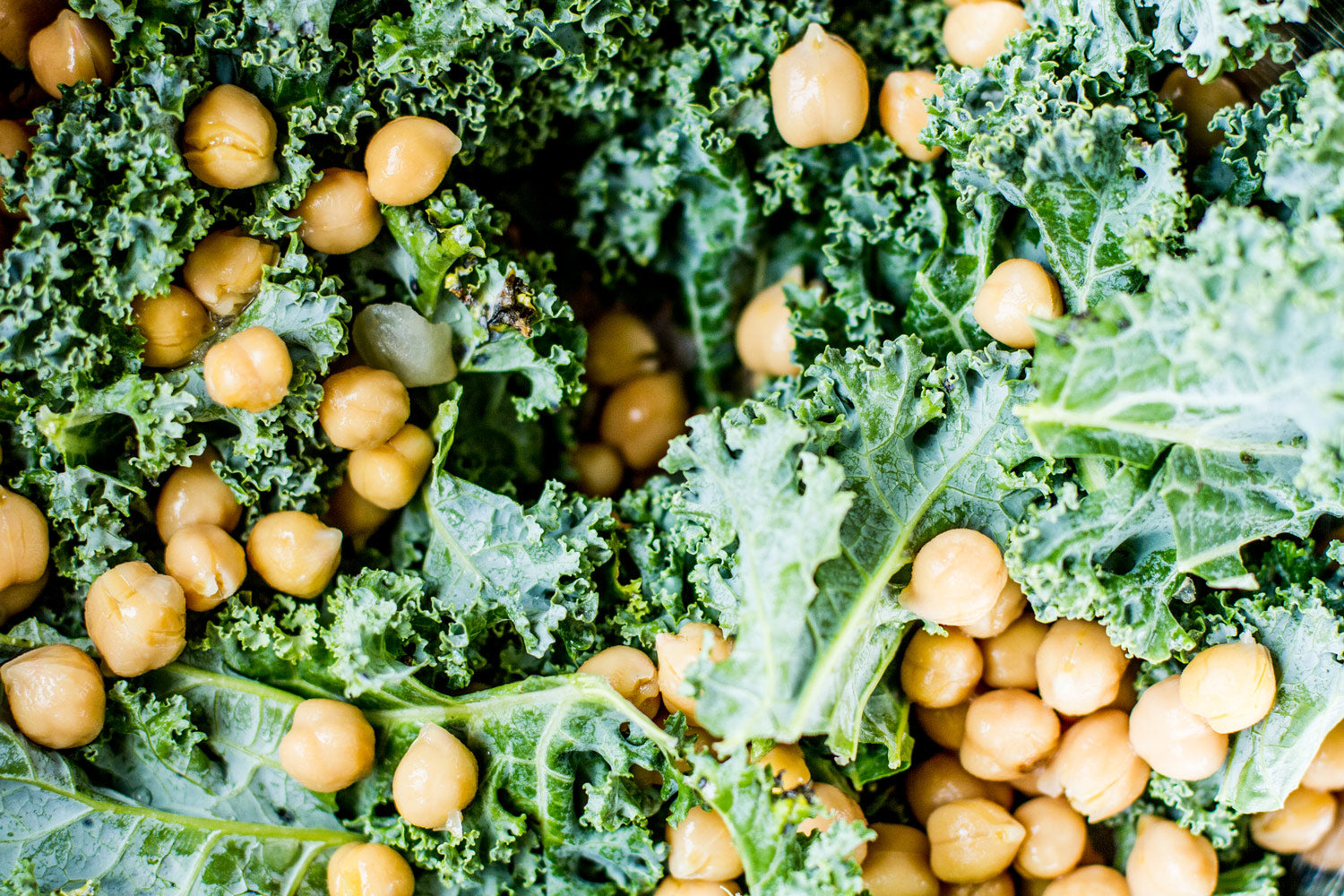 chickpea and kale caesar base