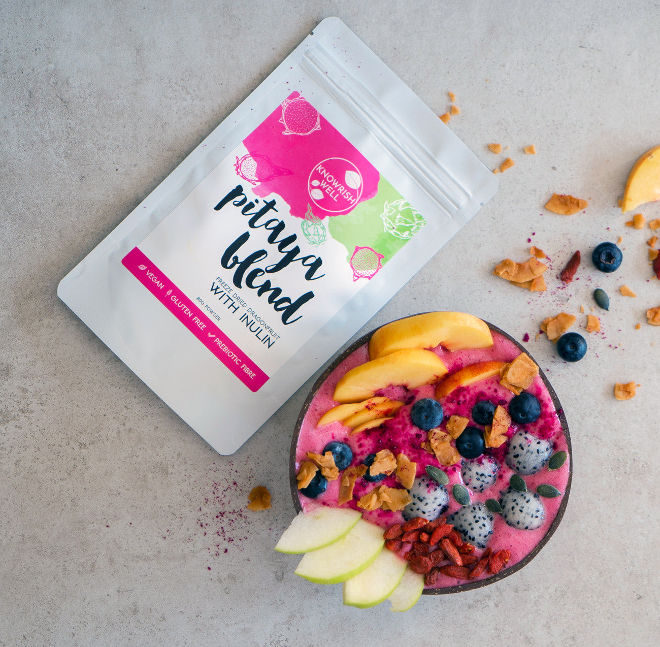 Knowrish Well Pitaya Blend