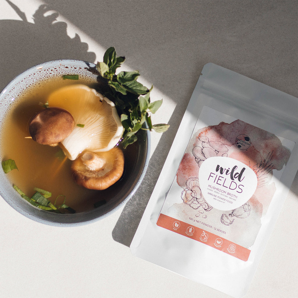 Wild Fields Mushroom Broth - 100g