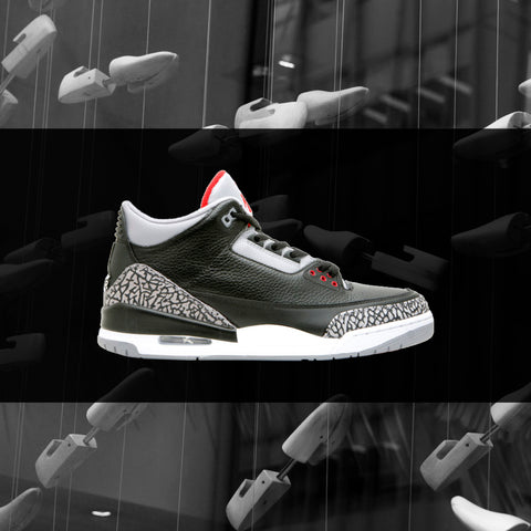 BLACK CEMENT 3 TEES
