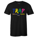 Men's Black Crew Neck TRAP T-shirt To Match Nike Air Max 90 Viotech 2.0