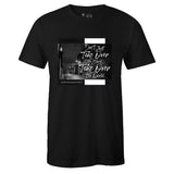Men's Black Crew Neck TAKE OVER T-shirt to Match Air Jordan Retro 11 Jubilee