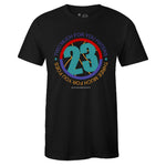 Men's Black Crew Neck 23 T-shirt To Match Air Jordan Retro 9 Dream It Do It Flight Nostalgia