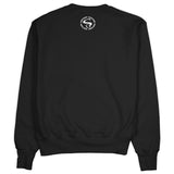Men's Black Crew Neck BRED Champion Sweatshirt to Match Air Jordan Retro 11 Bred