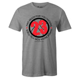 Men's Grey Crew Neck 23 Sneaker T-shirt To Match Air Jordan Retro 6 3M Reflective Infrared