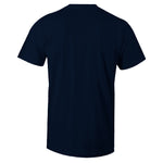 Men's Navy Crew Neck INSPIRE Sneaker T-shirt To Match Air Jordan Retro 5 Michigan