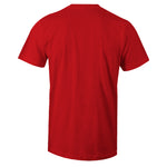Men's Red Crew Neck 23 Two Three T-shirt to Match Air Jordan Retro 5 Red Suede