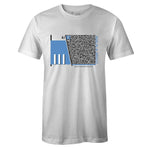 Men's White Crew Neck ELEPHANT IN THE ROOM T-shirt To Match Air Jordan Retro 3 UNC