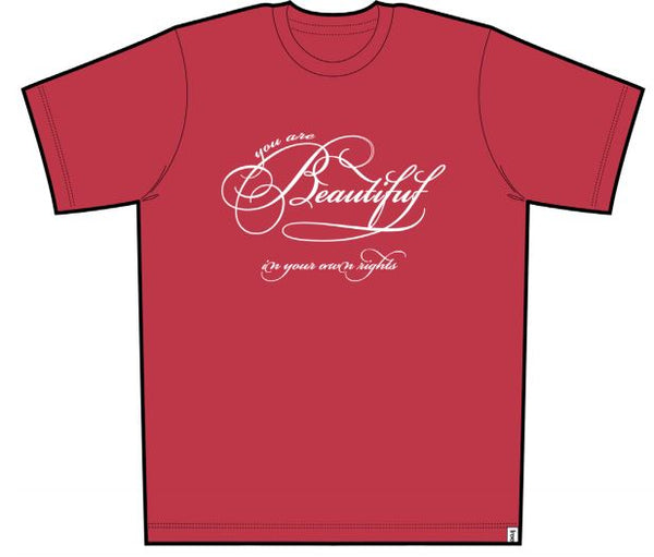 Beautiful Men Short Sleeve Tee Red