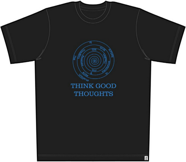 Good Thoughts Men Short Sleeve Tee Black