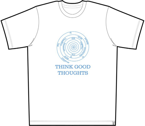 Good Thoughts Men Short Sleeve Tee White