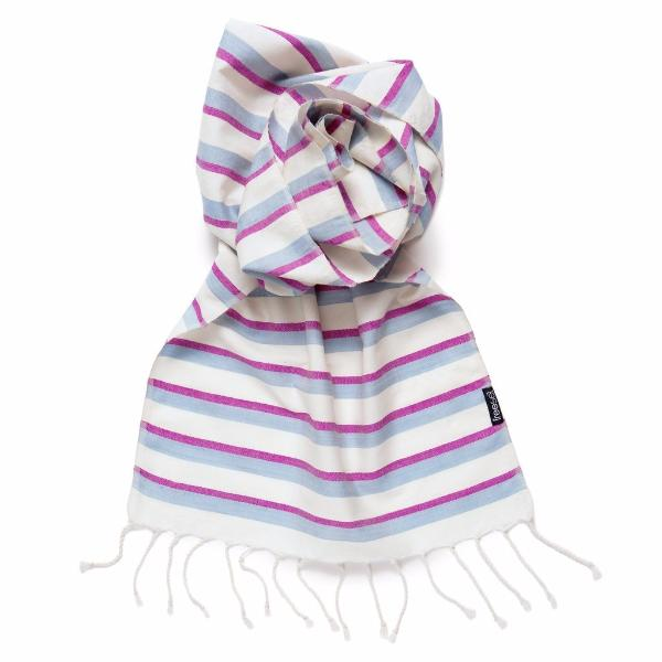 Handwoven Urban Chic Classic Scarf - Jazz