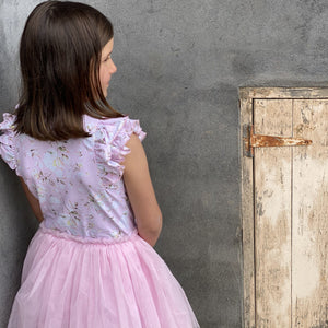 POSY PINK SHORT SLEEVE FRILL TUTU DRESS