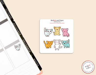 Cat Sticker Sheet