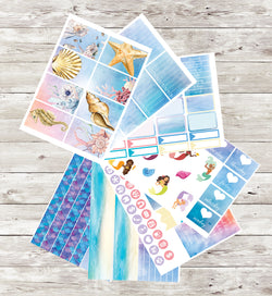 Mermaid Sticker Sheets