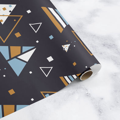 Far Out Christmas Wrapping Paper Sheet