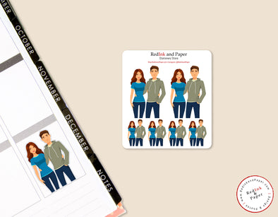 Date Night 3 Sticker Sheet