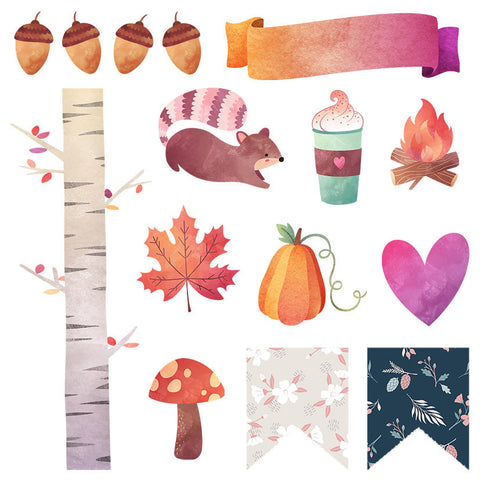 Fall Planner Sticker Sampler