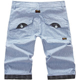 Summer Plaid Design Men's Leisure Shorts