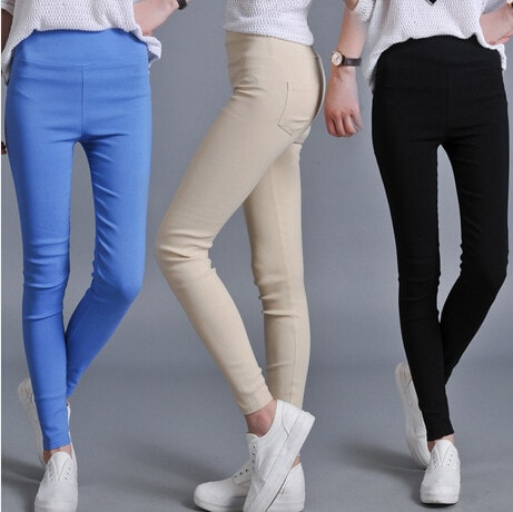 2016 8 Colors Fashion Fitness Sport High Waist Slim Leggings - TheOnlineClothingStore