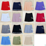 Student Uniforms Pleated Skirts