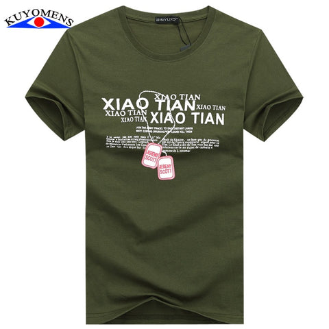 Men T-Shirts Cotton 5XL Big Size Tee Shirt Homme Summer Short Sleeve Casual Men's T Shirts Male TShirts Camiseta T shirt Homme - The Online Clothing Store